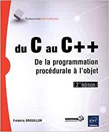 couverture du livre  Du C au C++ - De la programmation procédurale à l'objet