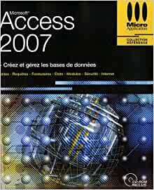 couverture du livre Access 2007 Référence