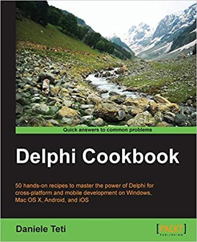 couverture du livre Delphi Cookbook