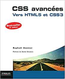 couverture du livre CSS avancées