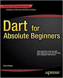 couverture du livre Dart for Absolute Beginners