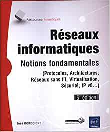couverture du livre Réseaux informatiques