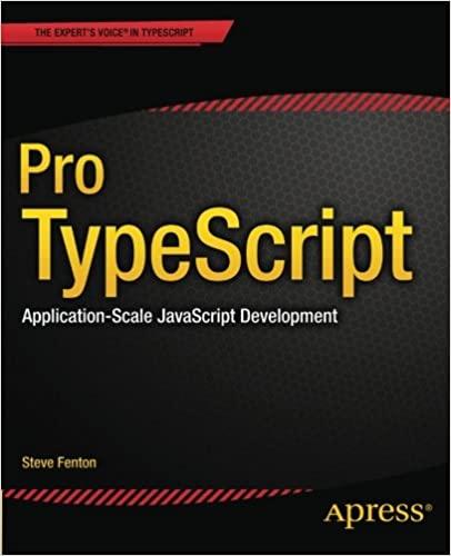 couverture du livre Pro TypeScript: Application-Scale JavaScript Development