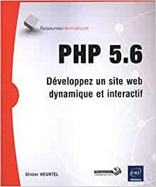 couverture du livre PHP 5.6