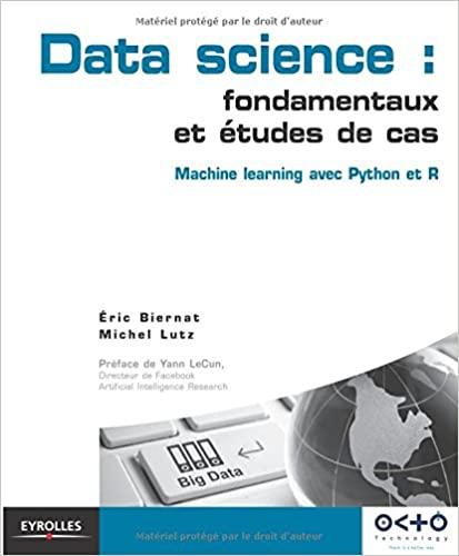 couverture du livre Data Science : fondamentaux et études de cas