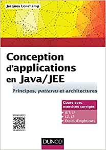 couverture du livre Conception d'applications en Java/JEE