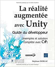 couverture du livre La réalité augmentée avec Unity