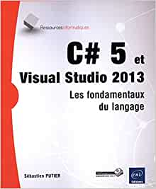 couverture du livre C#5 et Visual Studio 2013