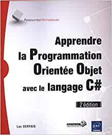 couverture du livre Apprendre la Programmation Orientée Objet avec le langage C#