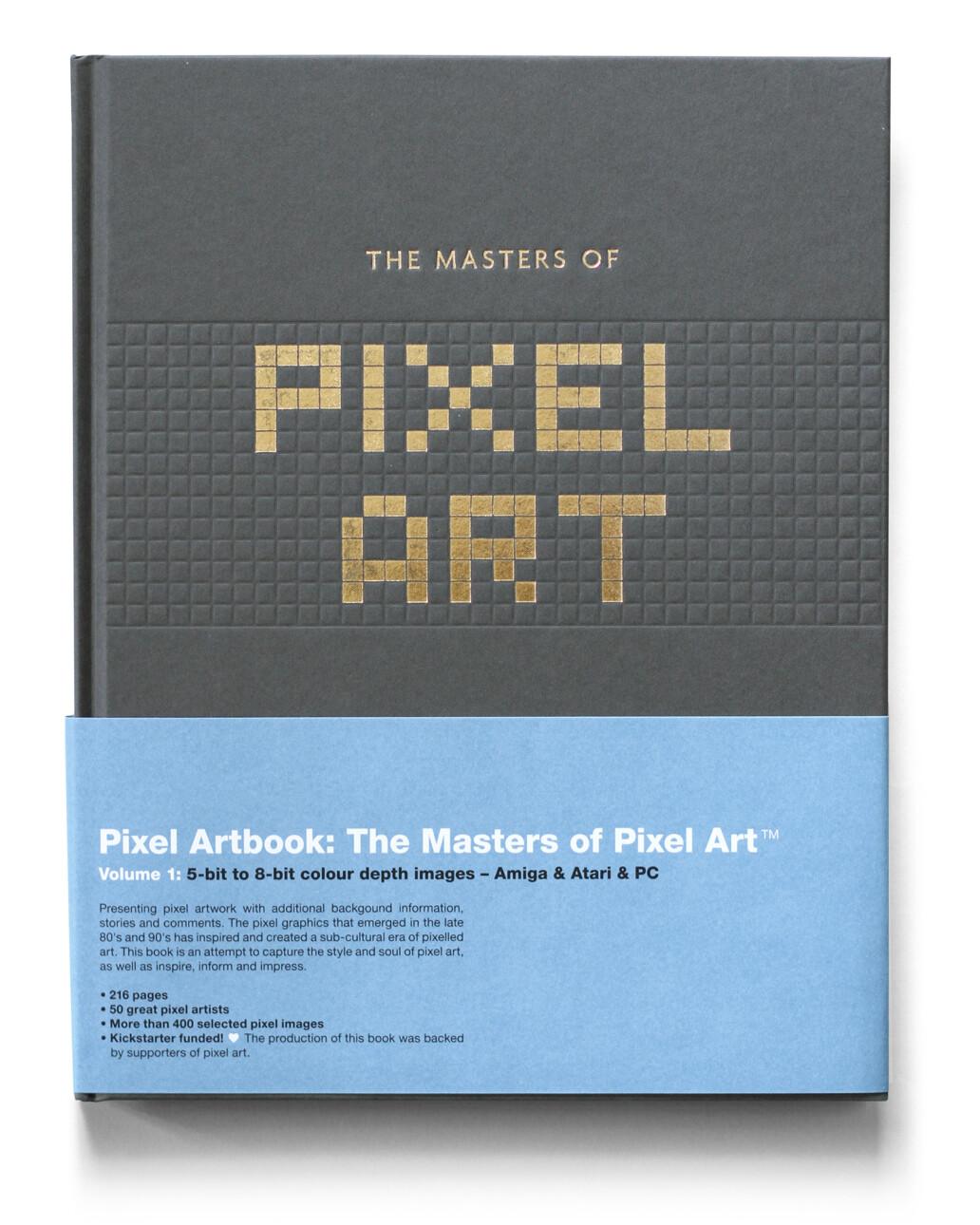 couverture du livre The Masters of Pixel Art