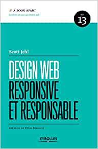 couverture du livre Design web responsive et responsable