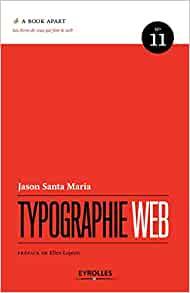 couverture du livre Typographie web