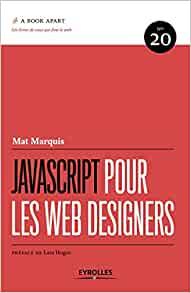couverture du livre JavaScript pour les web designers