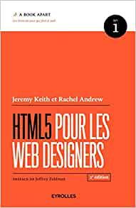 couverture du livre HTML5 pour les web designers