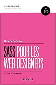 couverture du livre Sass pour les web designers