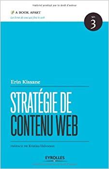 couverture du livre Stratégie de contenu web