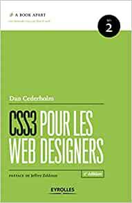 couverture du livre CSS3 pour les web designers