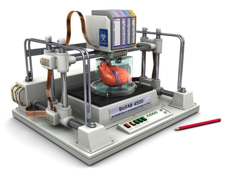 bioprinting une imprimante 3d pour concevoir des organes du corps humain le projet audacieux. Black Bedroom Furniture Sets. Home Design Ideas