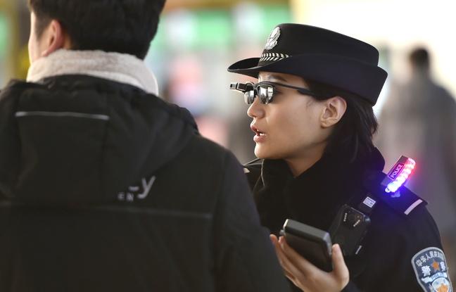 Des lunettes de reconnaissance faciale pour la police — Chine