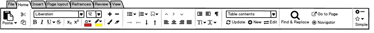 La notebookbar arrive dans libreoffice - Presse papier open office ...