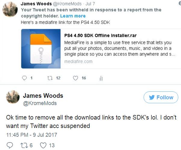 Sony s'appuie sur le copyright pour tenter de supprimer le