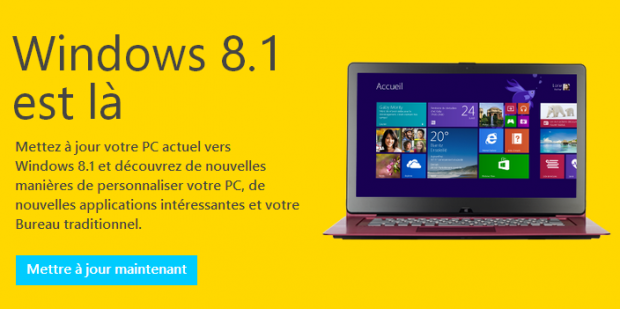 Windows 8 1 disponible gratuitement sur le windows store - Performances du bureau pour windows aero ...